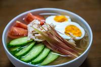 ダシダで冷麺のスープを作る - Darjeeling Days
