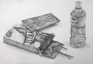 1学期のデッサンコンクール 2021年7月 - 教室通信/松尾美術研究室