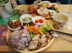 すまいる食堂 * お野菜たっぷり健康ランチ♪ - ぴきょログ~軽井沢でぐーたら生活~