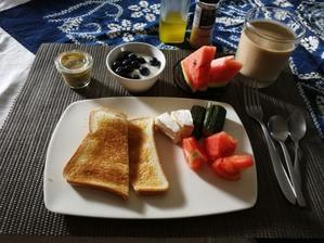 朝ごはん。 - 塩と砂糖