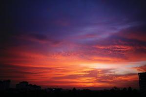 台風前夜 - 雲フェチ