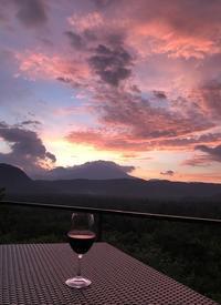 台風のサイン?綺麗な夕焼け - 林幸千代 ブログ 世界で一番あなたがキレイ