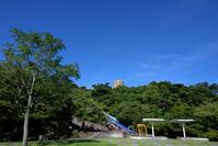 松山総合公園 夏風景 - かたくち鰯の写真日記2