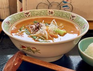 坦々麺 - 大学弁当