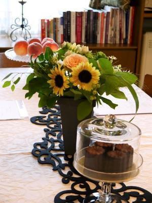 レッスン風景 - お菓子、紅茶、大好き!