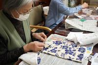 裁縫 ~ ランチョンマットセット ~ - 鎌倉のデイサービス「やと」のブログ