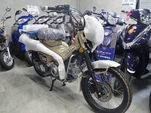 国内仕様のマットフレスコブラウン - バイクの横輪