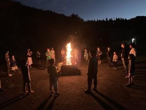 キャンプ2日目、無事終了! - 氷ノ山登山ガイド則さんの日記