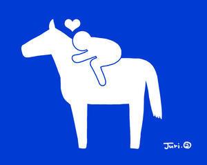 ピクトグラム - おがわじゅりの馬房