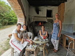 夏休み前最後のパン焼き - フィレンツェ田舎生活便り2