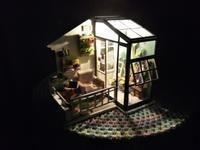 夜のコンサバトリー - 美鈴とトラと私とお庭
