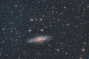 NGC7331追加処理・・・ - みずがきの森から