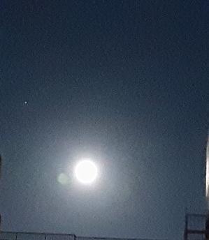 月のイベント🌃バックムーン~😌?土星とツーショット? -