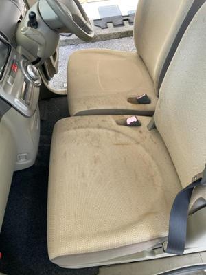 シート洗浄★汚れは細菌や臭いの元 - なーべーのリペア奮闘記