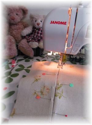 裁縫コーナー…♪ - 素敵ゆったり田舎暮らし<2>