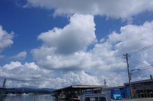 湧き上がる入道雲 -