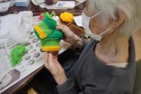 編みもの ~ アクリルたわし ~ - 鎌倉のデイサービス「やと」のブログ