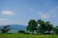琵琶湖畔 - Blue Planet Cafe  青い地球を散歩する