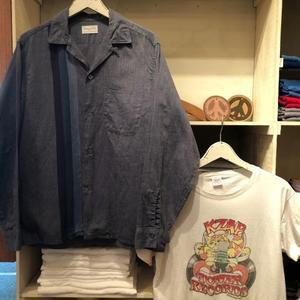 """1960s """" VAN HEUSEN - MADE IN U.S.A - """" ALL cotton VINTAGE BOX-TAIL CHAMBRAY SHIRTS ※ GOODコンディション . - CAL DEAN -vintage clothing-"""