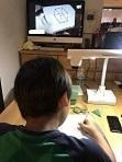 4年生初立体切断参加者K - ようこそ狛江の家庭塾へ