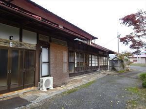 花巻 古民家改修工事 スタートしました。 - 岩井沢工務所の現場日記