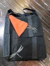 リメイク手芸 ~ 着物地のショルダーバッグ ~ - 鎌倉のデイサービス「やと」のブログ