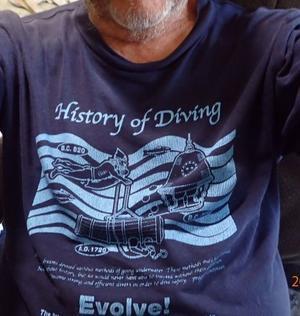 0731  ダイビングの歴史7 - スガジロウのダイビング 「どこまでも潜る 」