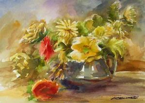 ちょっとシニアチックな水彩画家 Watercolor by Osamu 水彩画家のロス日記 Watercolorist Diary