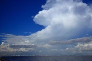 入道雲「東京湾」 -