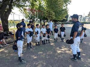 市町村大会第二回戦とか - 学童野球と畑とたまに自転車