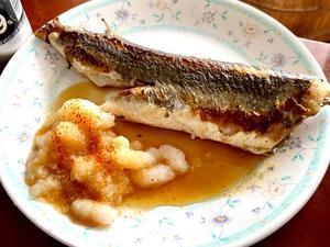 焼き魚と手羽先のスープで 夕ごはん! - よく飲むオバチャン☆本日のメニュー