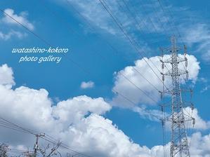 「今日見上げた空と鉄塔と色々」予約投稿 - 私の心の日記箱 Vol.0
