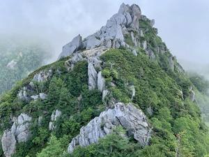 中部山岳 餓鬼岳見参 高山植物を愛でながらケンズリを越えて東沢岳へ     Mount Gaki in Chūbu-Sangaku National Park - やっぱり自然が好き