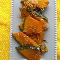 じゃこガーリックかぼちゃ - 料理研究家ブログ行長万里  日本全国 美味しい話