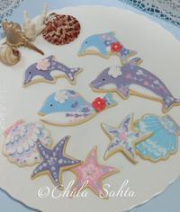 夏のアイシングクッキークラス開催のお知らせ🐬 - シュガークラフトアーティスト Mihoの気ままなブログ