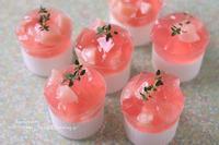 桃のお菓子 - Bon appetit!