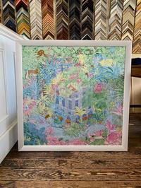 エルメスのスカーフ「フォーブルトロピカル」 - 絵のある生活ページワン