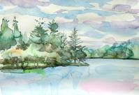 蓼科湖・空と森と水と - ryuuの手習い