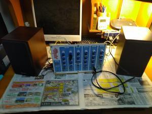 VCFの製作 動作確認 カットオフ周波数の動作確認 その1 - シンセサイザーを作っちゃえ!!!