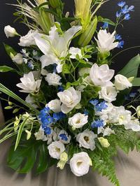 お盆の花とアルバイト - グリママの花日記