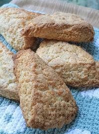 中力粉で作る甘さ控えめ、スコーン - マキパン・・・homebake パンとお菓子と時々ワイン・・・