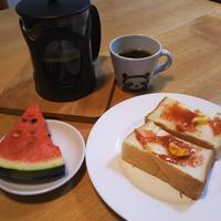 夏っぽい朝食かな - Hanakenhana's Blog