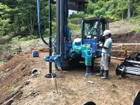 山中湖 讃美ヶ丘別荘地@地盤改良工事の様子 - 小粋な道草ブログ