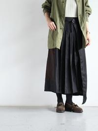 CHANGES REMAKE WRAP SKIRT / CH4019 (LADIES) - 『Bumpkins putting on airs』