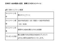 ADA日本上場記念‼️ - 仮想通貨と副業