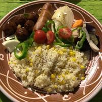 恒例トウモロコシご飯 - GARALOG