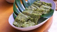 緑色の「にらチヂミ」 - 登志子のキッチン