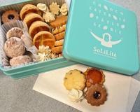 ソリリテのクッキー缶@肥後橋 - カステラさん