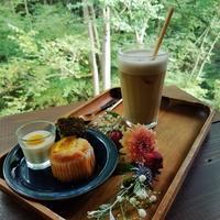 GAFLO CAFE by Flower FIELD * 早くも秋色に包まれるカフェ♪ - ぴきょログ~軽井沢でぐーたら生活~