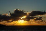 天使の梯子 - 雲空海
